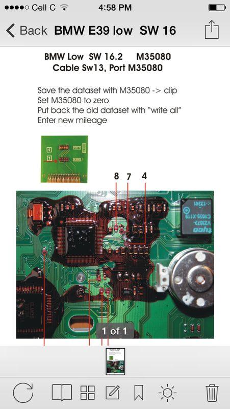 digiprog3-correction du compteur kilométrique-bmw-X5-1