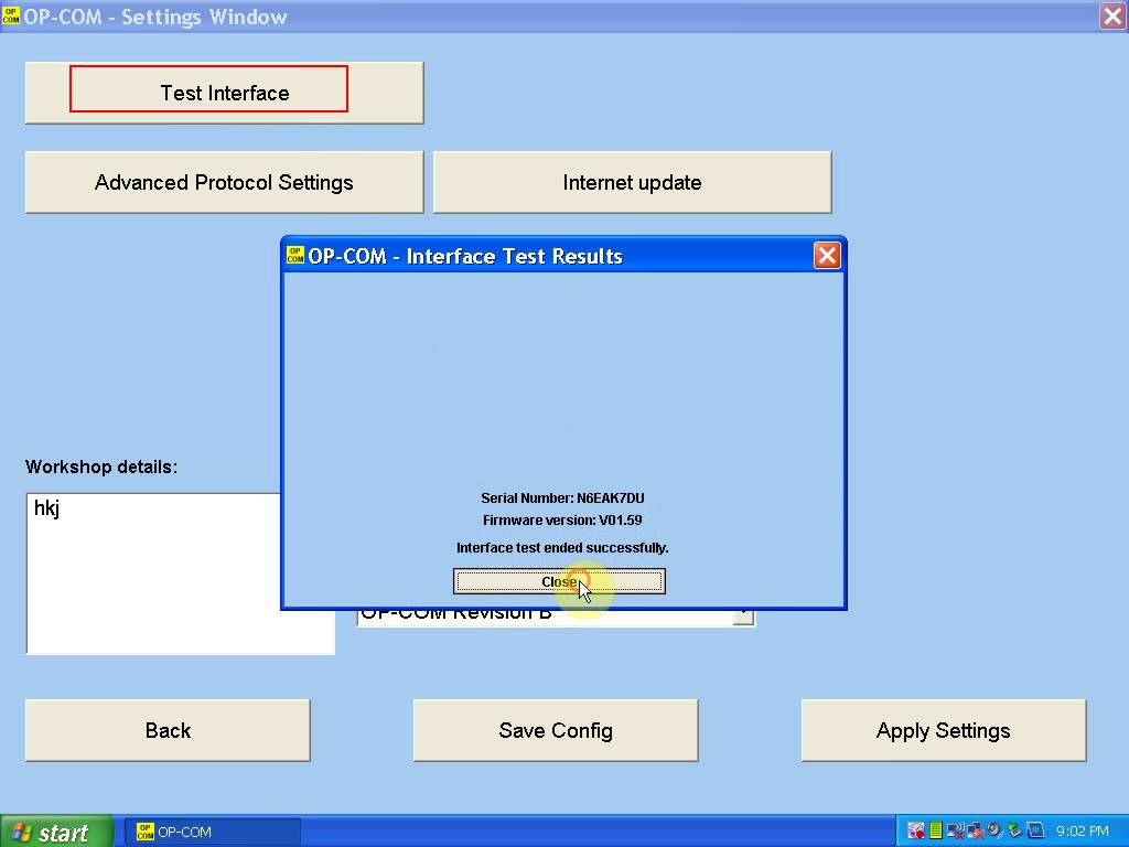install OP COM 1.59-4