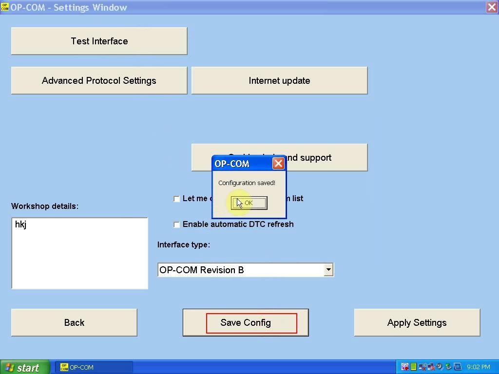 install OP COM 1.59-5