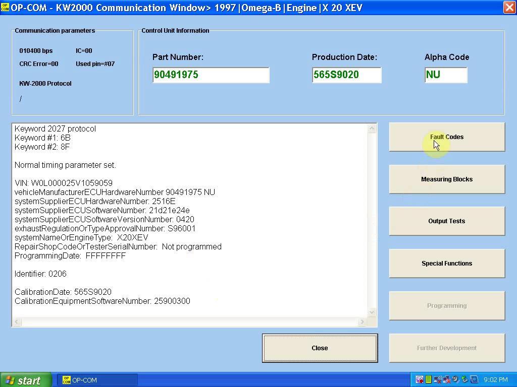 install OP COM 1.59-9