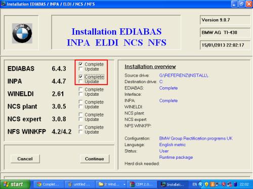 install INPA -1