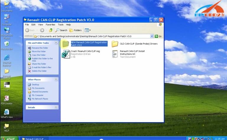 Right click CLIP Properties on the desktop-13