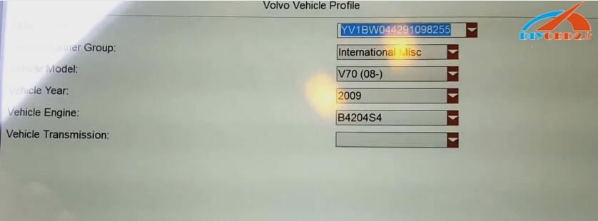 Foxwell-gt80, plus VOLVO V70-2009 (4)