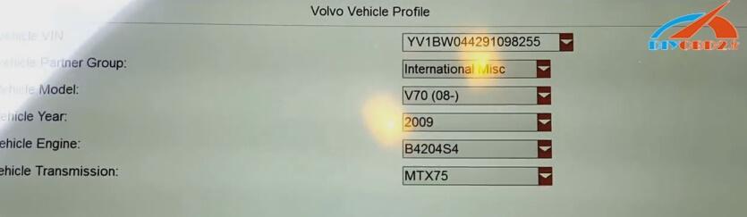 Foxwell-gt80, plus VOLVO V70-2009 (5)