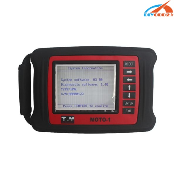 Moto-bmw-moto scanner