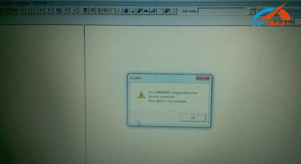 elsawin-error-80004005