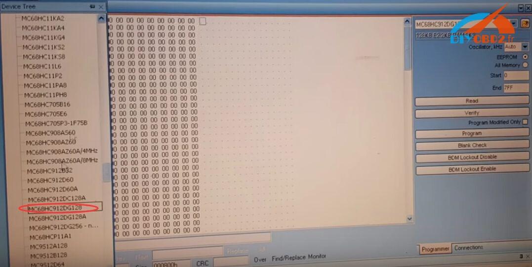 UPA-USB-Programmer-read-Peugeot-307-7