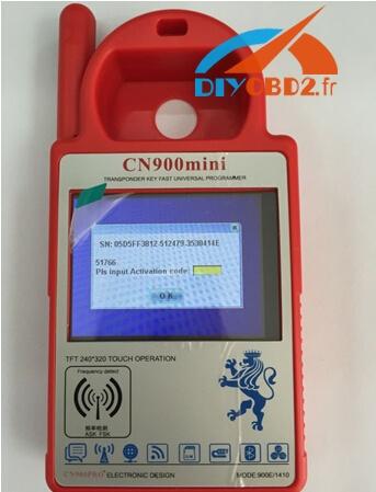 Cn900mini-mian-interface-display
