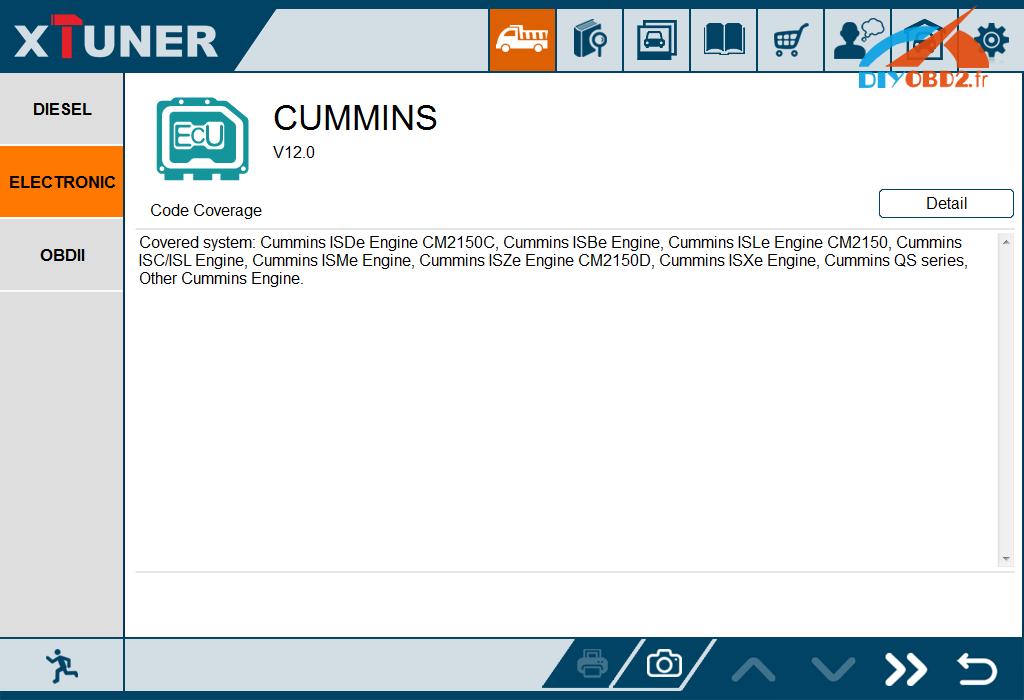 Cummins-truck-CM2150C-test-by-xtuner-t1-2