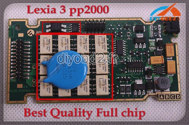 lexia-3-pp2000-citroen-peugeot-diagnostic-interface-PCB-2