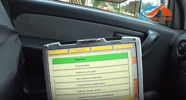How to use Lexia 3 PP2000 Diagbox Citroen Peugeot diagnostic tool