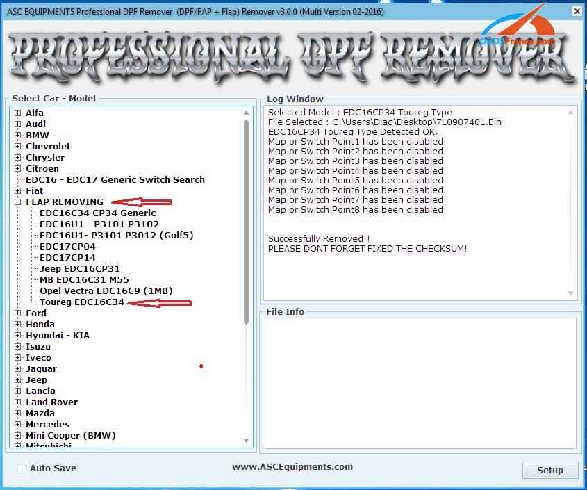 Professional DPF EGR Remover 3 0 Download, Car List, Review, Manual