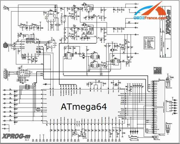 how to program atmega64 in xprog with upa