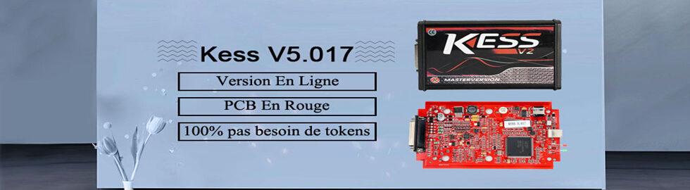 KESS V2 V5.017 supporte plus de 140 types de véhicules et de protocoles que KESS V2 V4.036