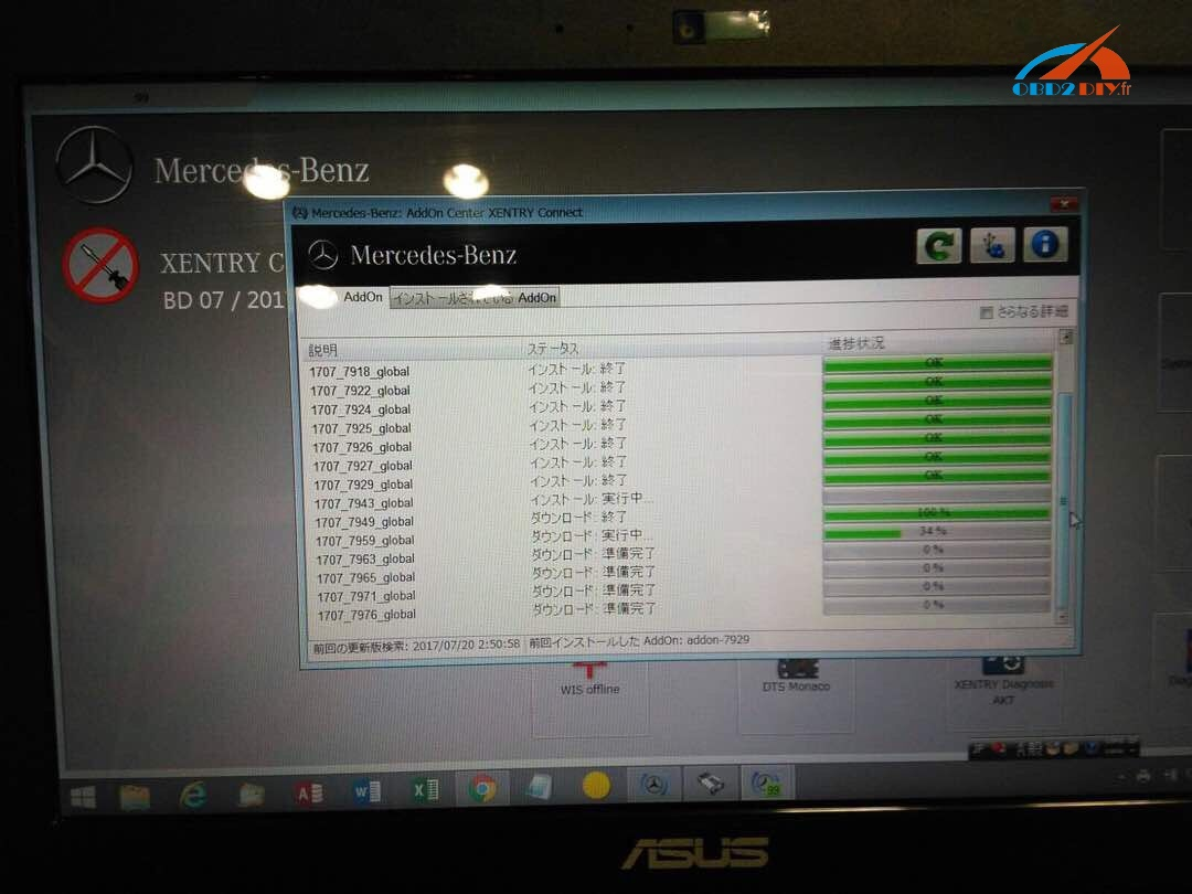Xentry connect c5 vs xentry diagnosis vci for Mercedes benz sd connect manual