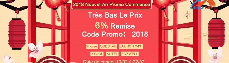 2018 Nouvel An Promo