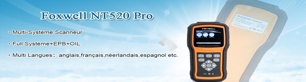 Français Foxwell NT520 Pro