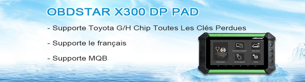 Français OBDSTAR X300 DP