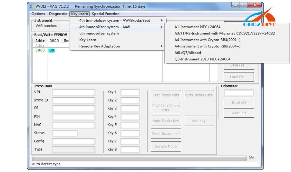 Novi SKP1000 Tablet Auto Key programer