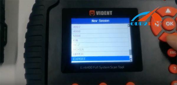 vident-ilink400-Peugeot-diagnosis-27