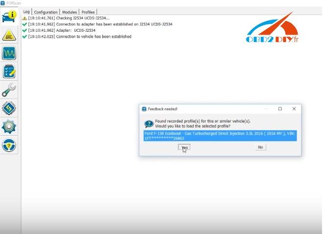 How to use FORScan for Ford truck programming | OBD2Diy fr officiel blog