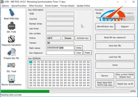 mecedes-c230-all-keys-lost-vvdi-solution-24