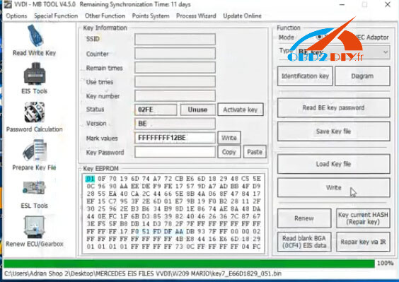 mecedes-c230-all-keys-lost-vvdi-solution-27
