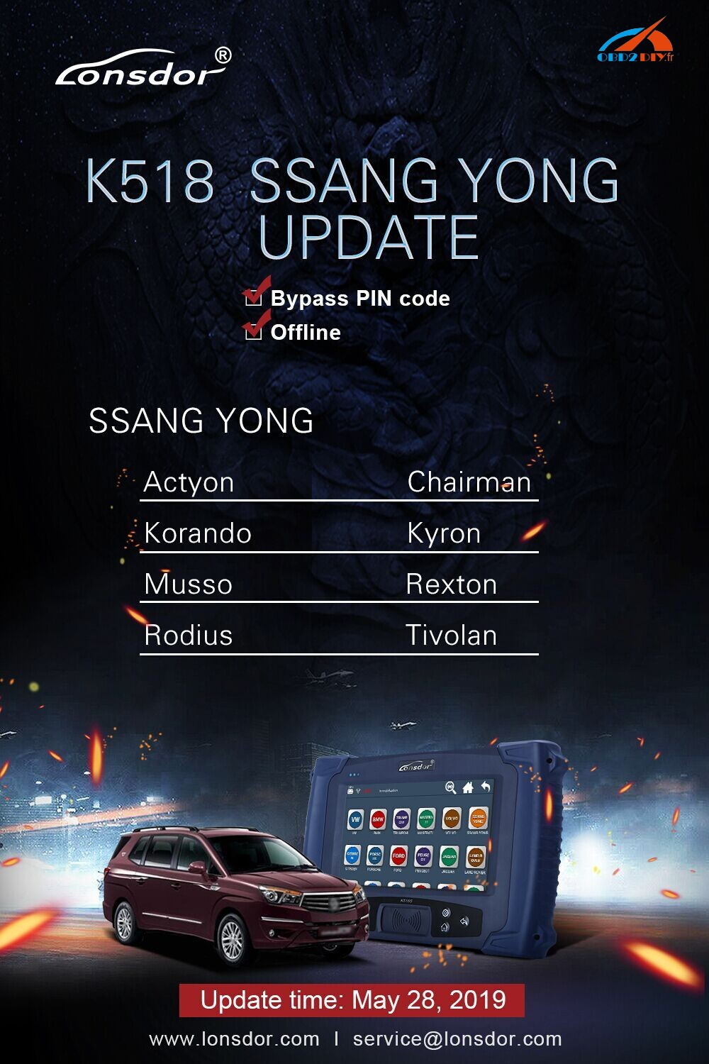 Lonsdor-K518s-K518ise-update-for-SSANG-YONG