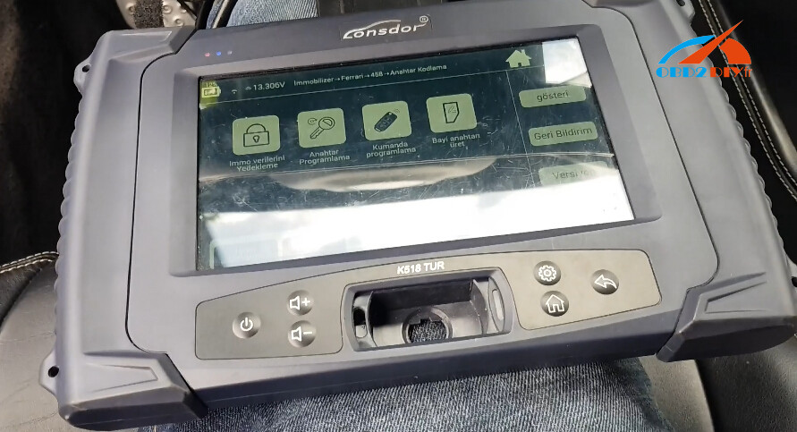 lonsdor-k518-Ferrari-458-remote-program-1