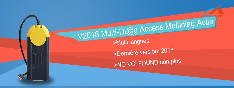 V2018.3 Multi-Di@g Access