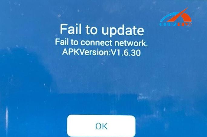 k518-update-error
